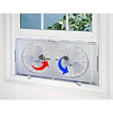 Black 20-inch High-velocity Home Cooling Superior Air Flow Tilt Power Fan