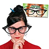 SPECTACULAR HUGE CAT EYE SPECTACLES GLASSES