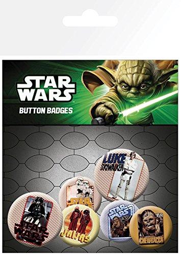 Badge Pack Retro Star Wars