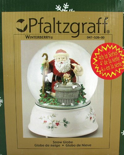 Pfaltzgraff Winterberry Snow Globe by By (Image #1)