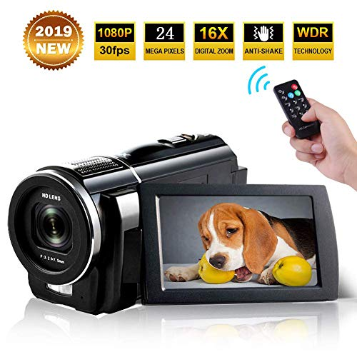 Used, Camcorder Full HD 1080p 30fps 24.0MP Digital Camera for sale  Delivered anywhere in USA