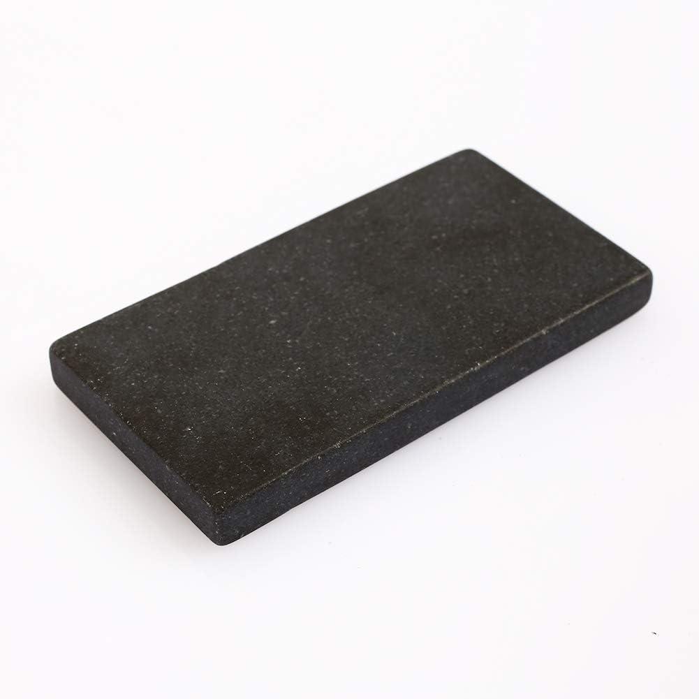 Piedra de prueba de oro Meteorito Pizarra Negro Duradera Identificación práctica Herramientas de Goldsmith Herramientas de prueba de oro Piedra de toque