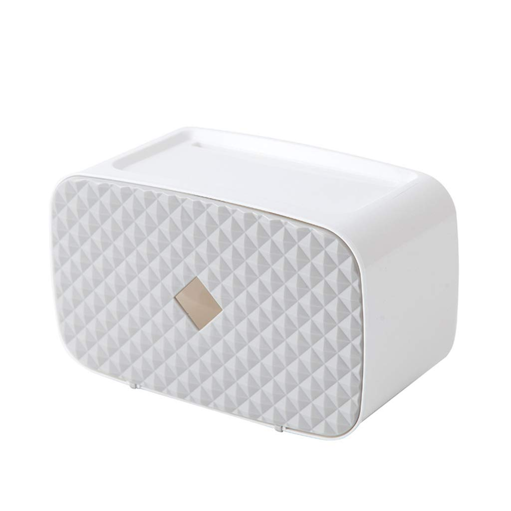 Bathroom, bathroom tissue box, Punch-Free, roll Paper, Paper, Toilet Paper, Wall-Mounted, Waterproof Toilet Paper Holder.