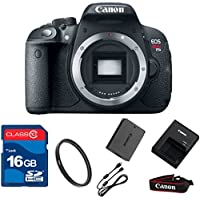 Canon T5I DSLR Camera Body Only (NO LENS)+ 16GB Memory + UV Filter + Deluxe Value - International Version