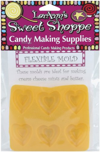Flexible Candy Making Molds-Double Heart