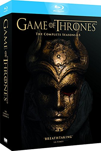 Game of Thrones Complete Seasons 1-5 Game of Thrones - Seasons One to Five Reg.A/B/C United Kingdom
