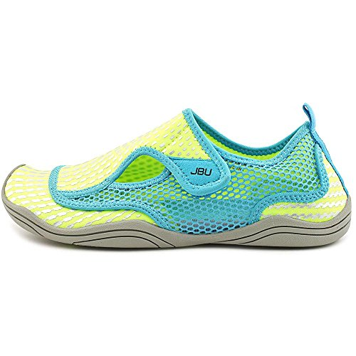 Jbu By Jambu Nemo Womens Slip-on Water Shoes, Lime / Cyan 9.5m Us