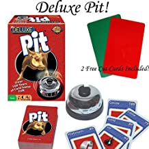 Deluxe Pit Card Game w/ 2 Free Cut Cards.