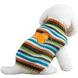 Menpet Pet Holiday Cartoon Bones Dog Sweater