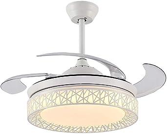 Luz de ventilador de techo moderna de 42 pulgadas, 3 colores de ...