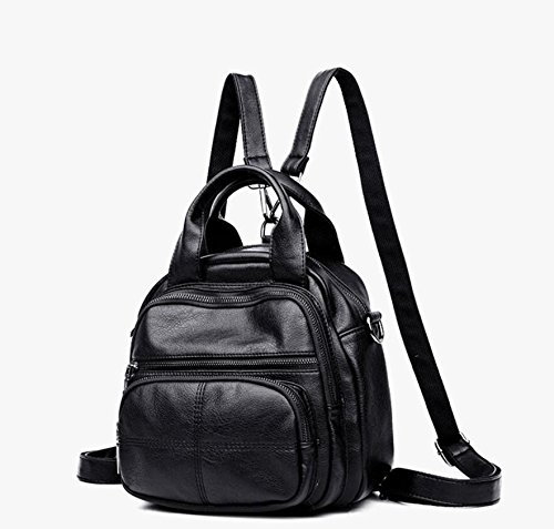 Black Leisure Lady Llevar Bolso Bag Impermeable Multifuncional Mochila Travel Mochila Meaeo Gray qP6YnFw6f