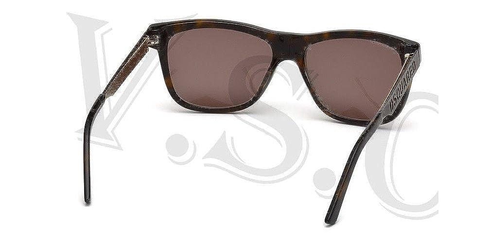 Amazon.com: Dsquared dq0136 anteojos de sol DQ 136 auténtico ...