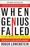 When Genius Failed, Roger Lowenstein, 0375758259