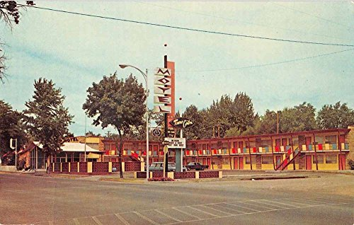 Towne Center - Mountain Home Idaho Towne Center Motel Vintage Postcard J59316