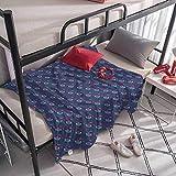 Kids Boho Throw Blankets Pattern with Alien