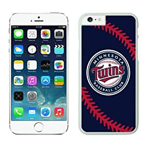 DIY Custom iPhone 6 Phone Case Minnesota Twins TPU Rubber Phone Case For Apple iPhone 6 4.7 Inch Case 1 White