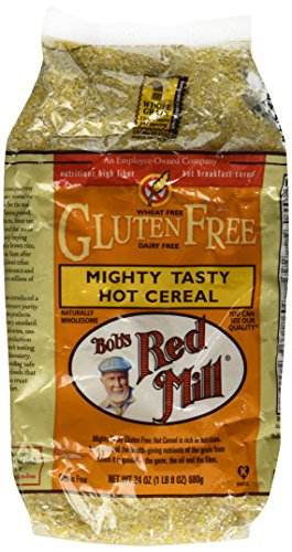Mighty Tasty Hot Cereal, Gluten Free, Bob's Red Mill - 2/24oz Bags
