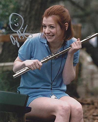 ALYSON HANNIGAN as Michelle Flaherty – American Pie GENUINE AUTOGRAPH