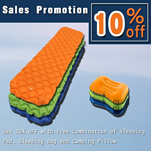 wwww Camping air cushion-Orange by wwww (Image #2)