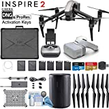 DJI INSPIRE 2 and DJI Goggles Combo with CinemaDNG & Apple Pro Res License Keys - Pro Bundle