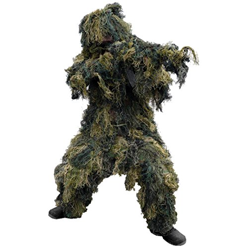 Mil-Tec Ghillie Suit 4 pcs. Woodland Size XL/XXL ()