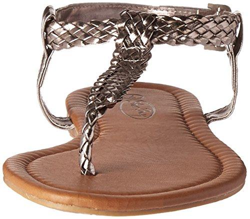 Ladies Elegant Fashion Sandals Grey e6Dcbq5O