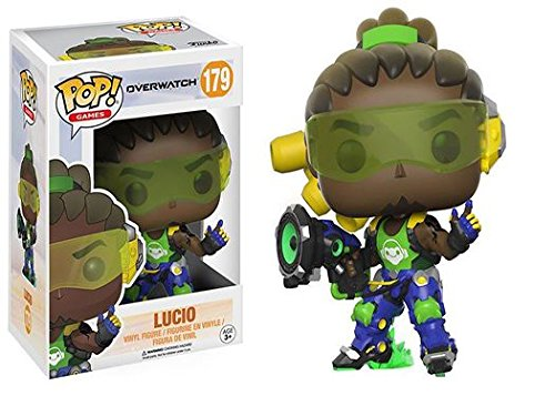 Overwatch: Lucio + Symmetra - Stylized Video Game Vinyl Figure NEW: Amazon.es: Juguetes y juegos