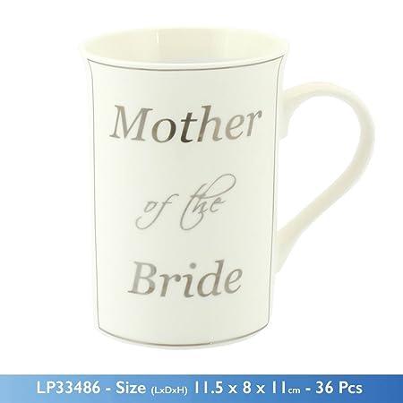 Gift China Fine Mug Mother Wedding Of Bride You Thank The WEDHYI29