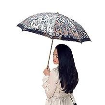 "Kaimao Lace Parasol Umbrella UV Protection Sun Shade UPF 50+ Lightweight and Portable Open Diameter 35.4""; Closed Length 9.8""; Weight 13oz"