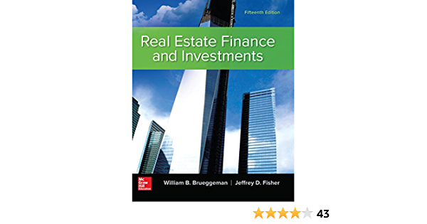 Real estate finance and investments brueggeman pdf to word investments brand cashmere