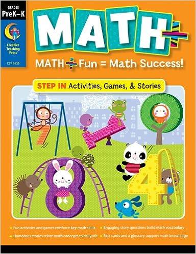 MATH PLUS: Step In, Grade PreKK: Creative Teaching Press