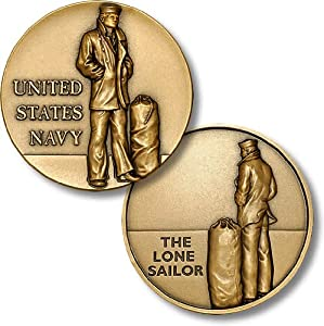 U.S. Navy - The Lone Sailor Challenge Coin