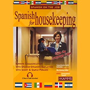 Spanish for Housekeeping Audiobook