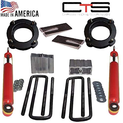 "Chassis Tech 2005-2015 Toyota Tacoma 4"" Front 4"" Rear Lift Leveling Shims,Rear Shock S/L 1624 Unbranded"