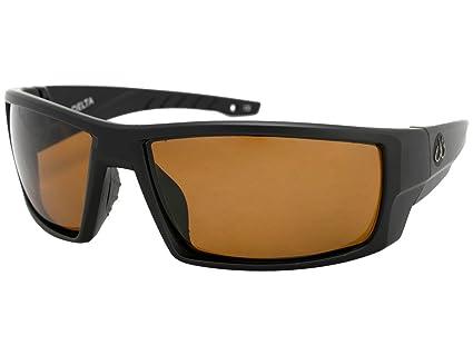 2888f7334b Filthy Anglers Delta Men s Polarized Fishing Sunglasses Matte Black Brown