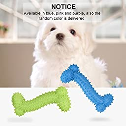 Petacc Puppy Chew Toys Bite Resistant Pet IQ Training Tool Teeth Cleaner Dog Chewer 2pcs