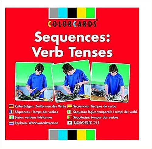sequences colorcards verb tenses speechmark 9780863885853