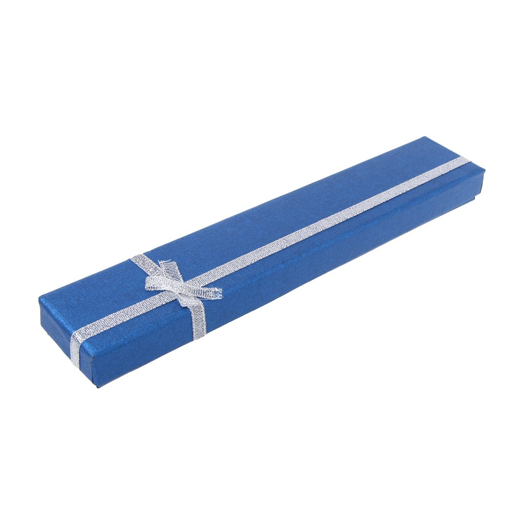 Forgun Hand Fan Packing Box for Anniversary Birthday High End Colorful Gift Packing Box (Deep Blue) by Forgun (Image #4)