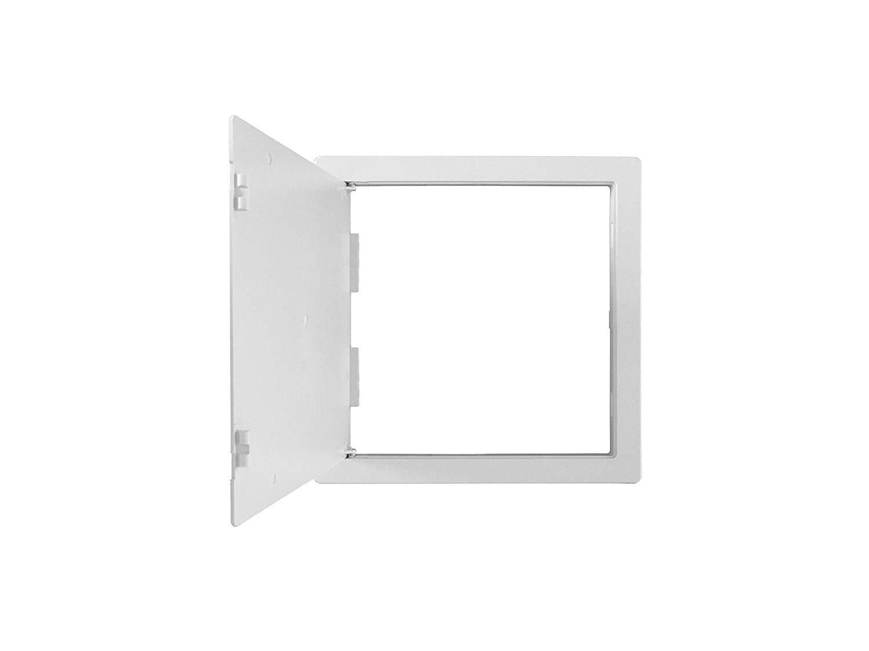 valves c/âblage Surface Coupe Blanc Plastique ABS Panneau dacc/ès//Inpsection Trappe 350/mm x 350/mm /cacher: Robinets etc. 35,6/x 35,6/cm m/ètres /