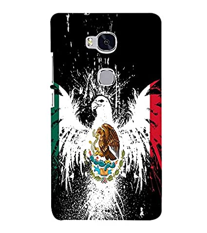 Vizagbeats Eagle Back Case Cover for Huawei Honor 5X: Amazon