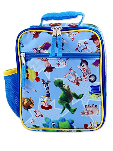 - Toy Story 4 Boy's Girl's Soft Insulated School Lunch Box (One Size, Blue)