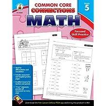 [(Common Core Connections Math, Grade 5 )] [Author: Carson-Dellosa Publishing] [Sep-2013]