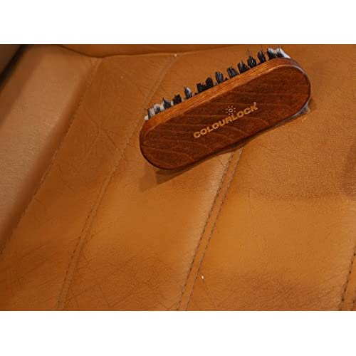 COLOURLOCK Leather & Textile Cleaning Brush for car interiors, alcantara car seats and leather furniture upholstery by COLOURLOCK free shipping