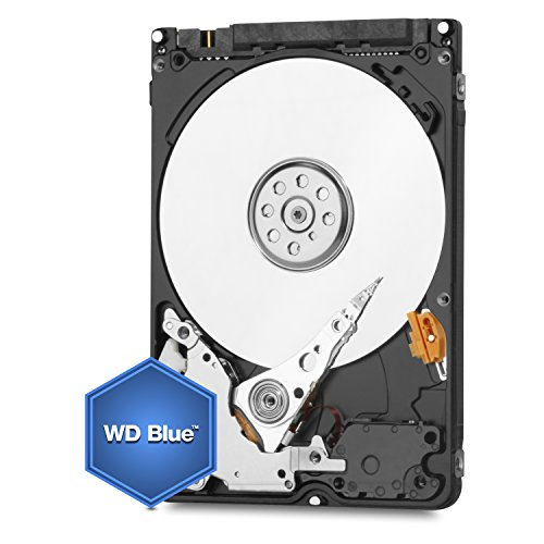 WD Blue 2TB Internal 2.5 inches Hard Drive SATA 6 Gb/s 15mm Height 5400RPM Model WD20NPVZ by Western Digital