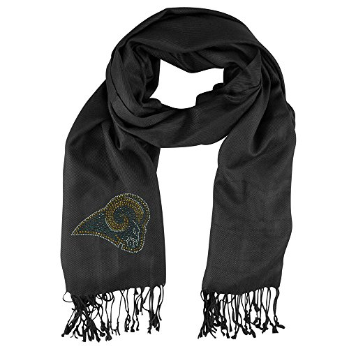 Little Earth Productions 351101-RAMS-BLCK St. Louis Rams Black Pashi Fan Scarf - Black from Pro Fan Ity