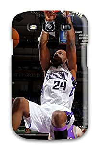 Ultra Slim Fit Hard EverettAlenders Case Cover Specially Made For Galaxy S3- Sacramento Kings Nba Basketball (37)