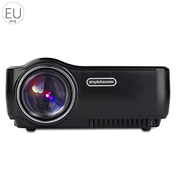 Befaith AUN AM01 Proyector 1200 Lúmenes 800x480 LED Reproductor ...