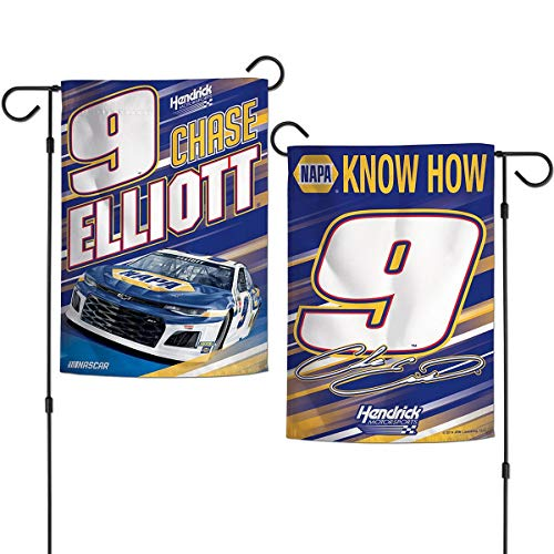 (Wincraft Chase Elliot Double Sided Garden Flag )