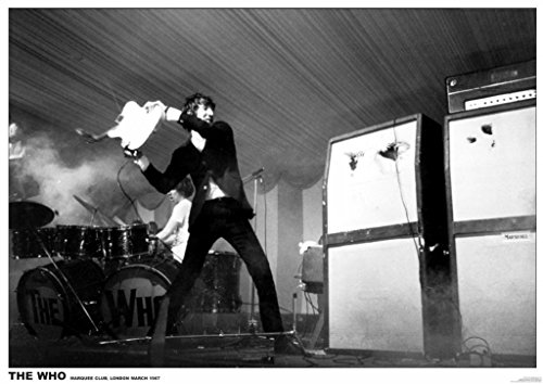Used, The Who Marquee Club, London 1967 Music Poster 33x23.5 for sale  Delivered anywhere in Canada