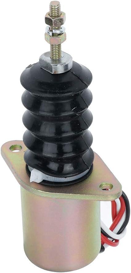 3375 375 675 655 755 855 955 F935 Fuel Stop Solenoid FSL90-0064 AM124379 AM124377 AM103337 for John Deere models